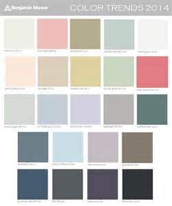 benjamin color trends 2014 palette cozy stylish chic