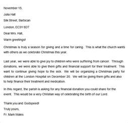 Charity Letter For Tax Purposes donation letter 9 free doc download