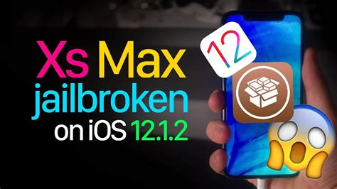 ios 12 jailbreak update iphone xs max jailbroken on ios 12 1 2 warning