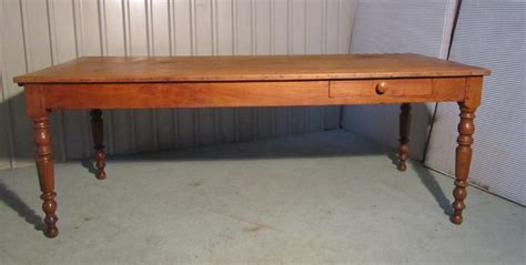 large kitchen table large 19th cherry wood farmhouse kitchen table