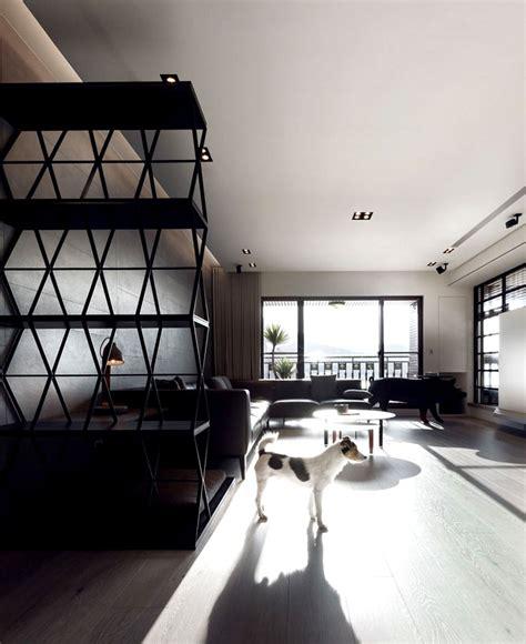Nomor Rumah Kayu Minimalis Black N White perpaduan elegan hitam putih untuk apartemen minimalis