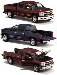 diecast model of 2014 chevy silverado autos post