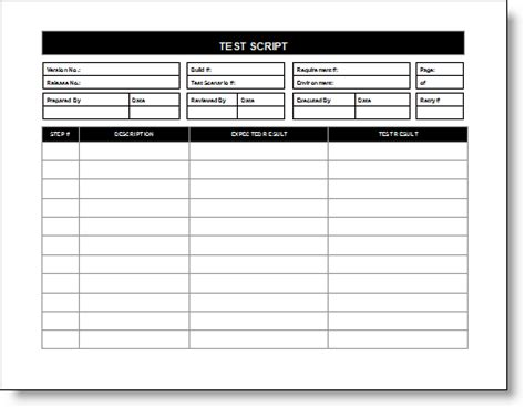 test strategy template griffinbivins s travel