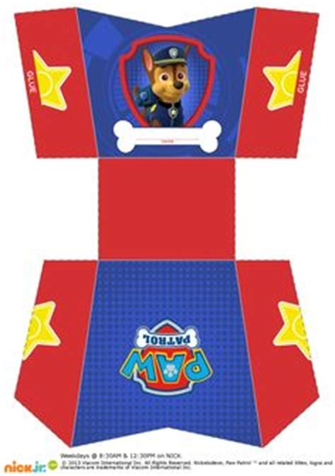 paw patrol pop up card template http comohaceruncandybar paw patrol box palomitas