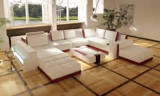 Leather Sofa Sets For Living Room Costa Contemporary Leather Living Room Sofa Set
