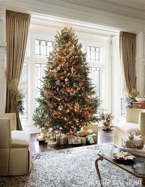 christmas tree drape holiday ribbon curtain tie backs what a great idea