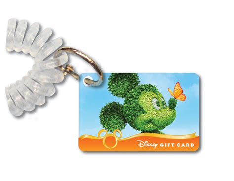 Schlitterbahn Gift Cards - behind the thrills disney rolls out new mini gift cards with an exclusive flower and