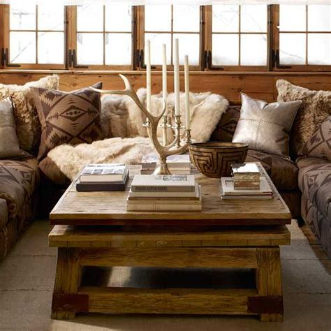 home deco ralph lauren interior rustic homes living room country