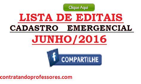 tudo o que acontece em moambique de 2016 lista de editais para cadastro emergencial j 225 publicados