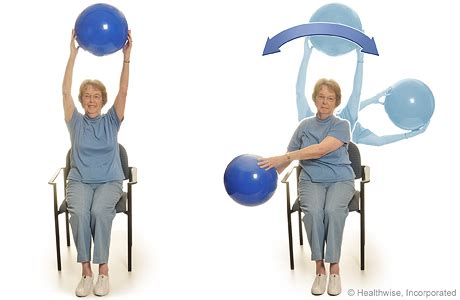 medicine chair exercises program b seated exercises with a