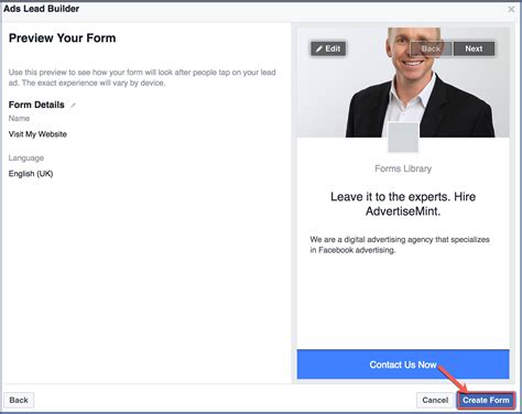 how to make a fan page on facebook how to create a lead ad through your facebook fan page