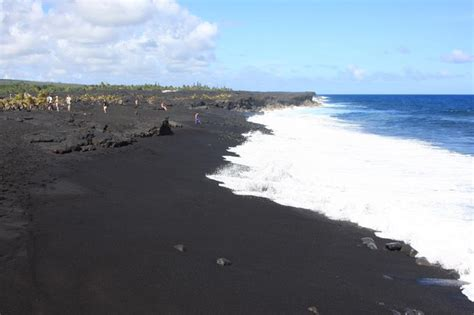 black sand beach big island black beach big island our travels pinterest
