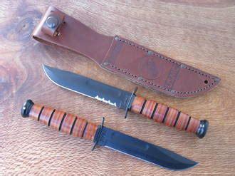 Ka Bar Usmc United States Marine Corps 5 Inch Knife 1250