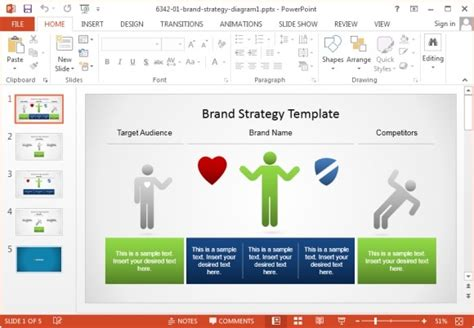 Awesome Marketing Plan Templates For Powerpoint Free Marketing Plan Template Powerpoint