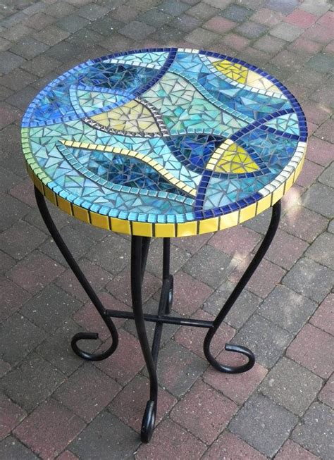 Mini Stained Glass Table Ls by Stained Glass Mosaic Coffee Table Side Table Plant Stand