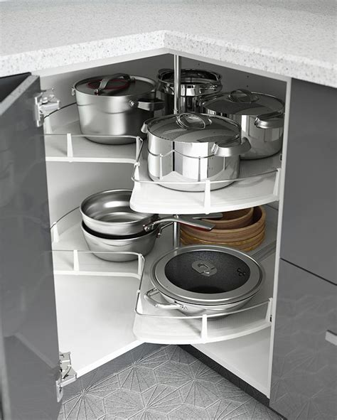 inside kitchen cabinet storage 25 best cabinet carousels ideas on small