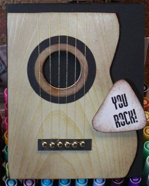 guitar birthday card template the world s catalog of ideas