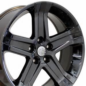 22 quot fits dodge ram 1500 sport style wheels black chrome