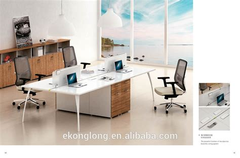 modern office furniture white melamine modern office staff
