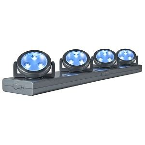 The Cabinet Led Lights Battery Operated by 12 Led Battery Powered Cabinet Lighting System