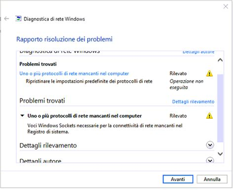 resetting windows sockets tantarobbamix windows 10 quot voci windows sockets necessarie