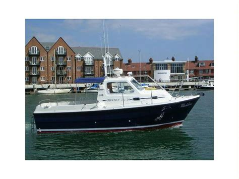 used pilot house boats orkney boats pilot house 24 in united kingdom power