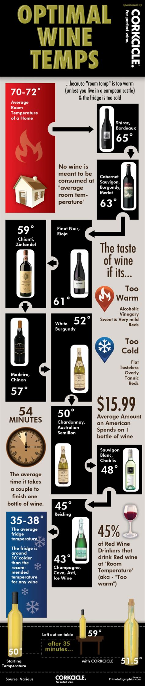 wine at room temperature 20 fantastic infographics on wine infographics graphs net