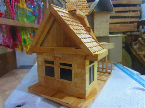 Jual Miniatur Rumah by Gambar Jual Miniatur Rumah Stik Es Hiasan Mini