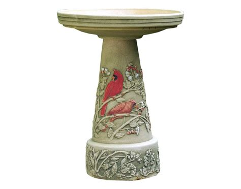 pottery bird baths