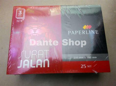 Buku Surat Jalan Rangkap 3 jual surat jalan rangkap 3 paperline dante