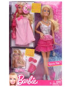 Home Decor Handicrafts Brb Spa To Fab X7891 Fun Barbie Dolls For Your Children