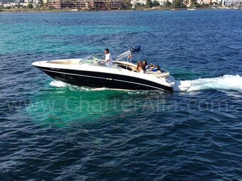 speed boat yacht skippered speed boat sea ray 230 for 10 people yacht