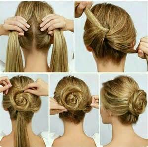 how to do easy hairstyles for step by step easy hairstyle for long hair step by step photo nail