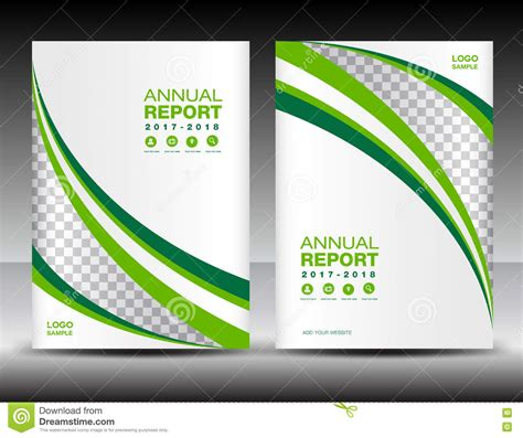 Business Report Cover Template Free Green And White Cover Template Cover Annual Report Cover