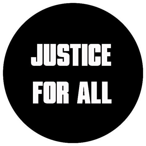 for all justice for all