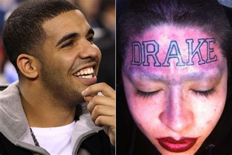 drake tattoo on forehead the only jaiden 2011 12 25