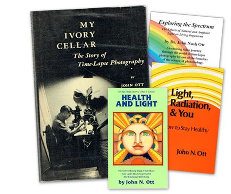 my ivory cellar the story of time lapse photography classic reprint books dr ott ottlite daylight lighting