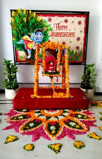 janmashtami home decoration art craft ideas and bulletin boards for elementary