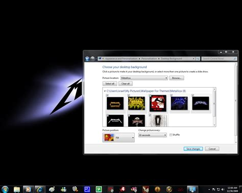 xtreme themes for windows 7 windows 7 themes metallica by pictionaryo on deviantart