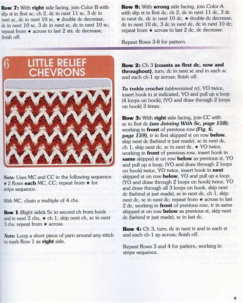 zig zag crochet pattern chart zig zag crochet stitch chart crochet kingdom