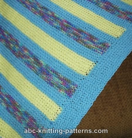 Garter Stitch Baby Blanket Pattern by 17 Best Images About Knitting On Blanket