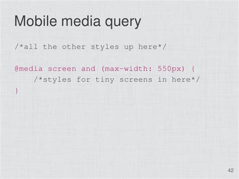 responsive layouts using css media queries css3 media queries and responsive design