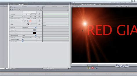 final cut pro getting started red giant getting started with knoll light factory in