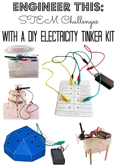 diy electrical engineering projects stem challenges with a diy electricity tinker kit planet