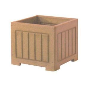 Plastic Planter Boxes Home Depot by Eagle One 12 In X 12 In Cedar Recycled Plastic