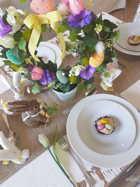 easy easter crafts easy easter tablescapes