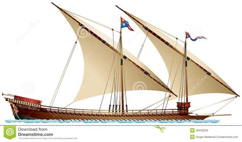 the galley price galley stock illustration image of piracy warfare trade