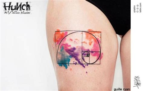 18 best images about fibonacci spiral tattoos on pinterest