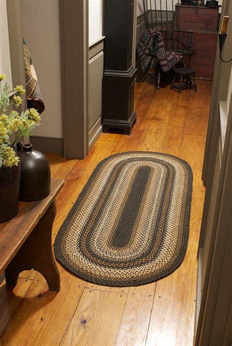 homespice decor primitive home decor braided rugs country primitive rugs and braided rug on pinterest