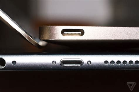 iphone usb c wsj apple will ditch lightning for usb c on new iphones the verge